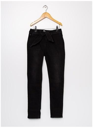 Lee Cooper Lee Cooper 121002 Sarı - Siyah Kadın Denim Pantolon Sarı